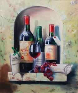 Старое вино и виноград