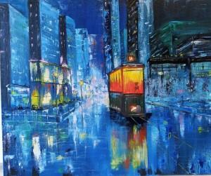 ночной трамвай